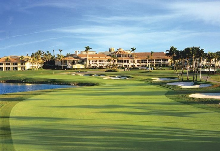 Donald Trump's golf course. Barack Obama was offered to play in this course for free.
