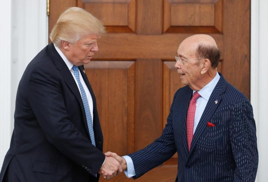 President Donald Trump hired Wilbur Ross as the US Secretary of Commerce.