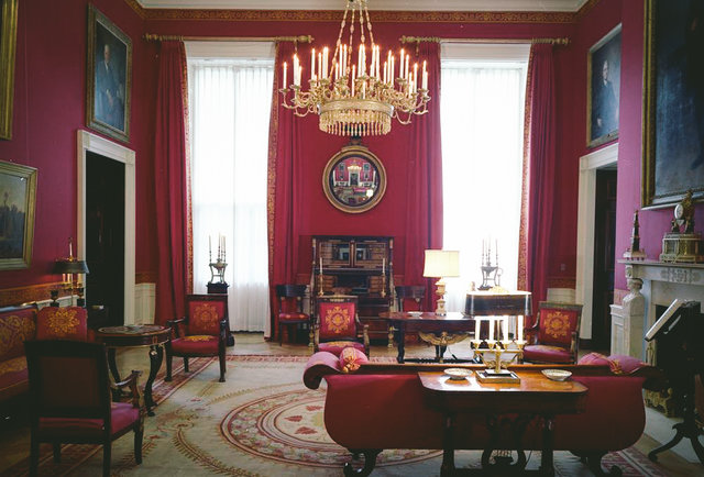 The Red Room of the White House