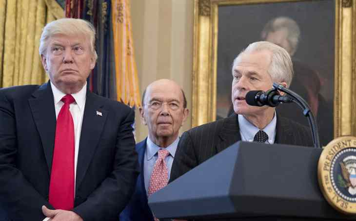 President Donald Trump hired Peter Navarro as the director of National Trade Council.