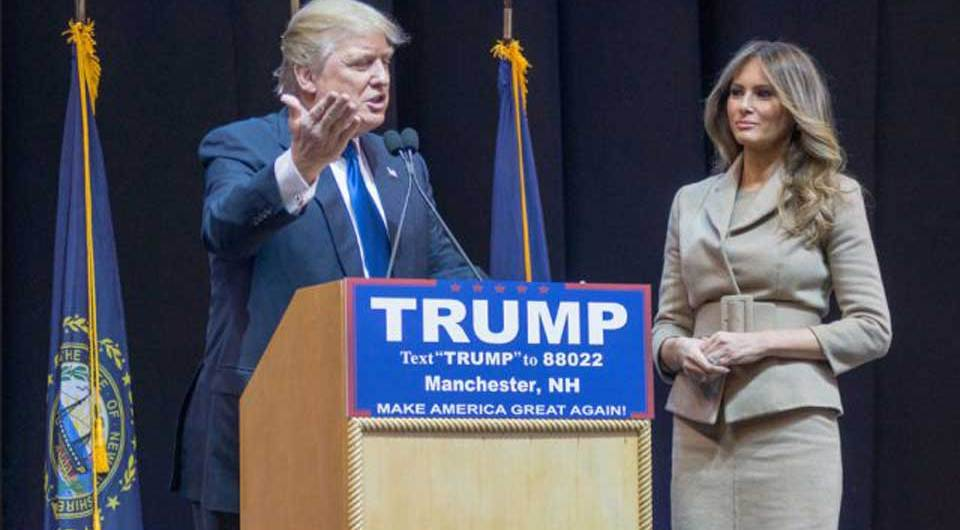 Does Melania Trump really loves her husband Donald Trump or she is kept as a captice?