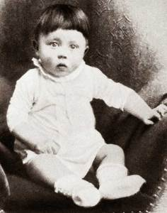 Photo of Hitler as a child.
