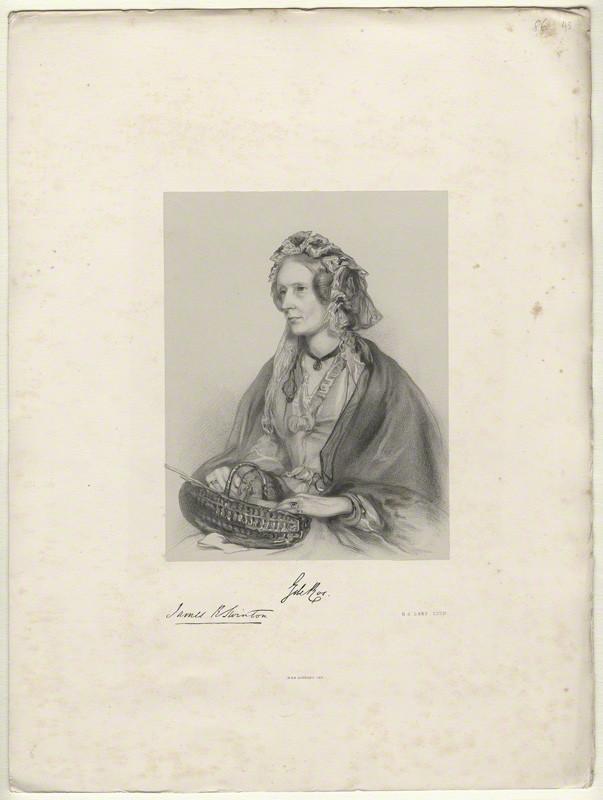 Lady Georgiana Lennox, later 23rd Baroness de Ros  of Helmsley (1785-1891) (1/4)