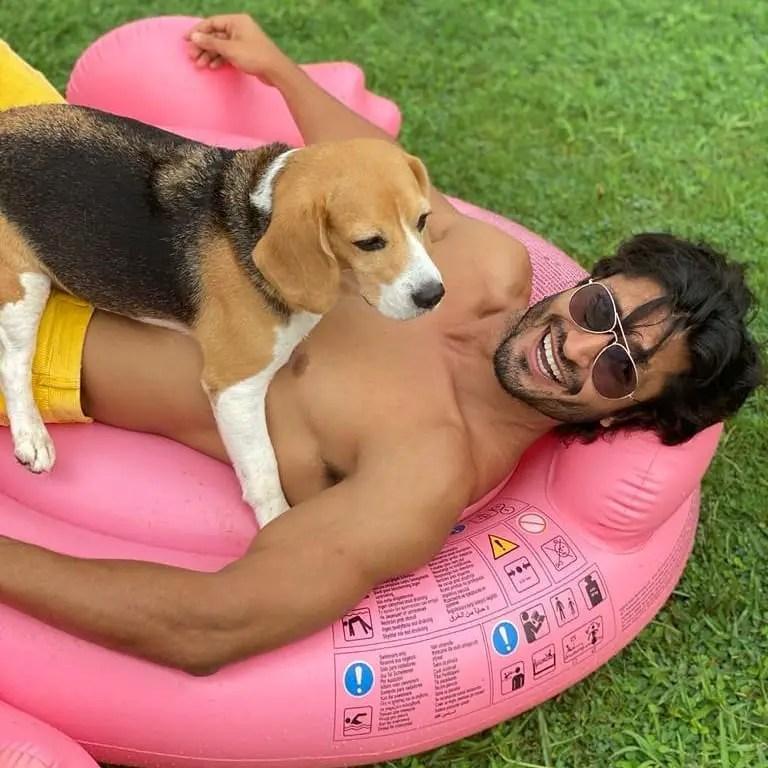 Vidyut Jamwal Pets