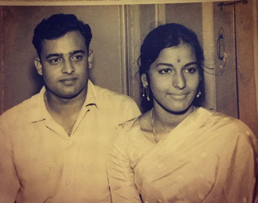 Namrata shirodkar mom dad