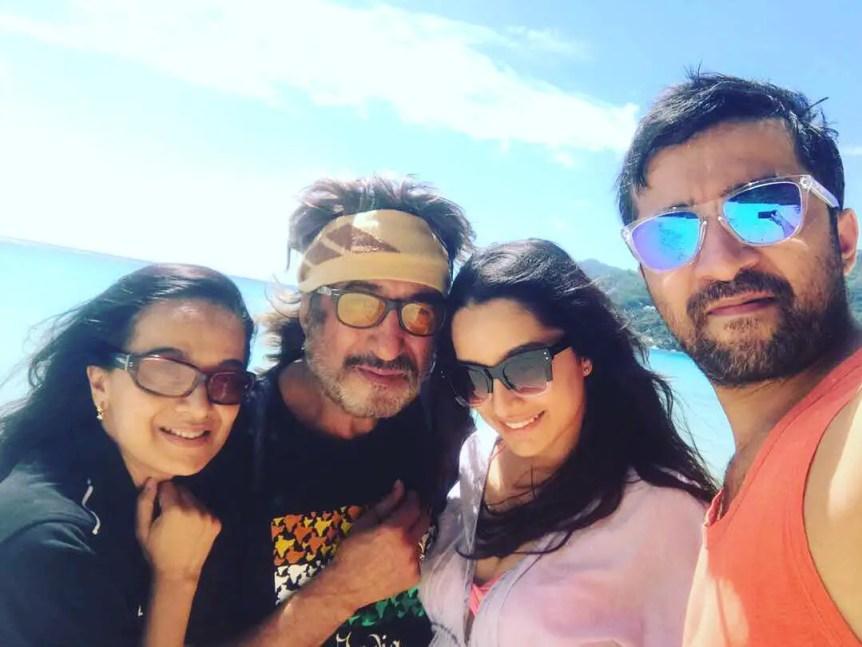 Shraddha Kapoor Family