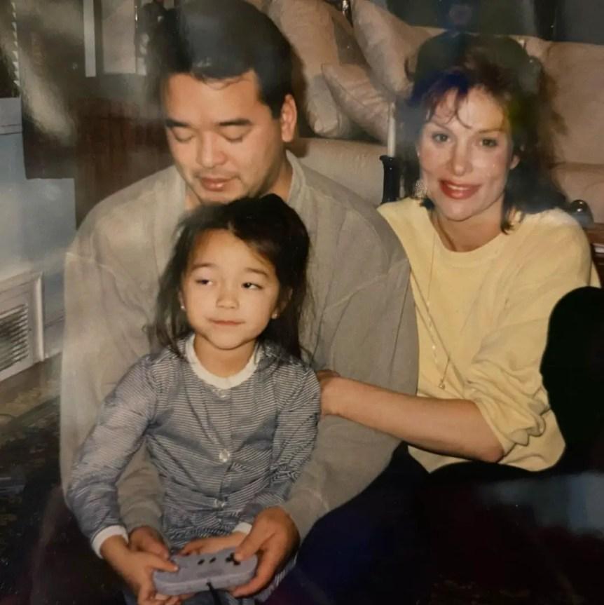 Midori Francis family childhood