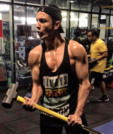 Rohit Suchanti gym