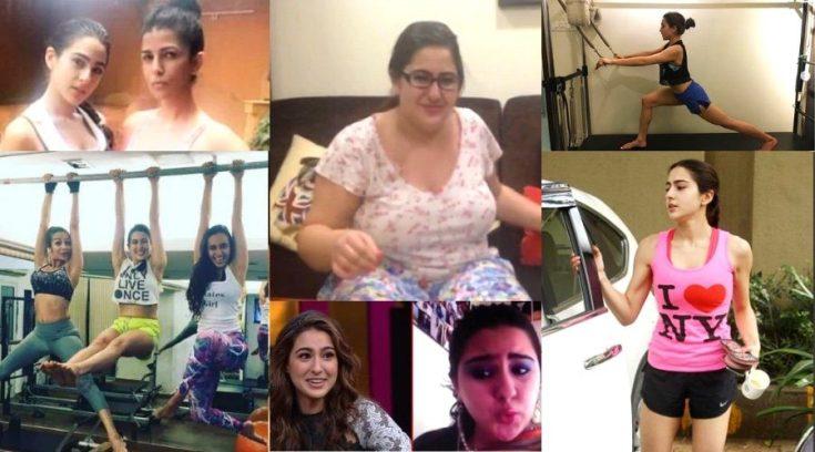 Sara Ali Khan transformation