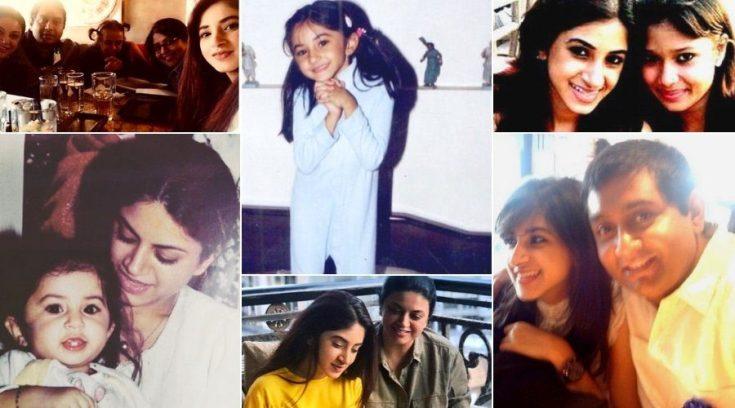 Aashna Shroff family
