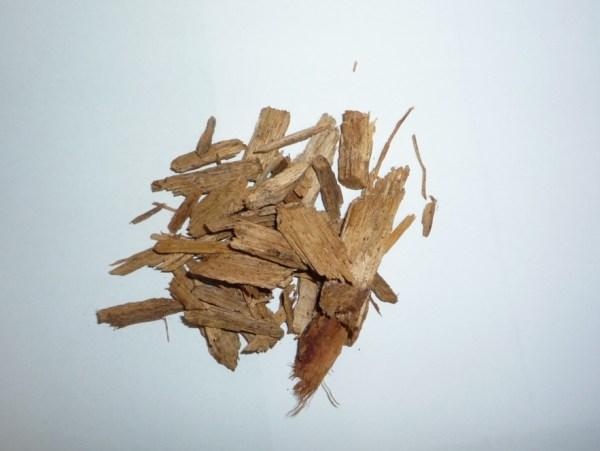 木材チップ 熱分解前 Biogreen 熱分解装置