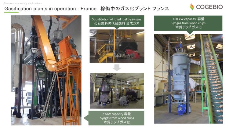 木質バイオマス 熱分解 ガス化 COGEBIO 石油代替燃料 2018.6.29