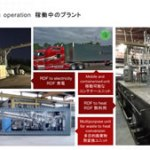 熱分解装置 Biogreen 稼働プラント RDF SRF 廃プラスチック 2018.7.1