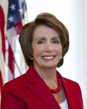 U.S. Congresswoman Nancy Pelosi