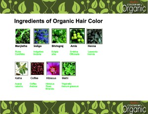 Radico Organic Herbs used in Hair Color