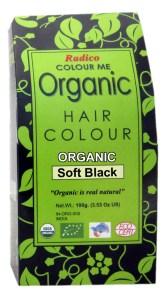organic hair color soft black