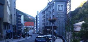 Ankunft in Andorra zur Zwischenübernachtung