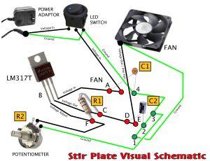 Stir Plate Wiring Diagram  Somurich