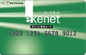 e-kenet(イーケネット) ポイント専用カード