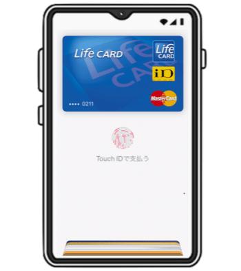 Apple Payに入れてiDが使えるからスマホだけで決済が可能!