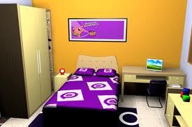 cat kamar tidur anak, cat aman untuk anak, cat ramah lingkungan