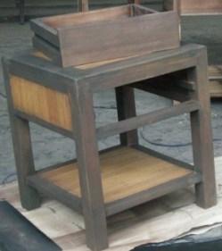 pengamplasan meja
