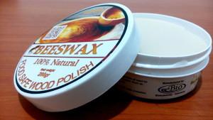 Biopolish beeswax pasta food safe wood polish