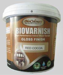 aplikasi Biovarnish pada furniture interior