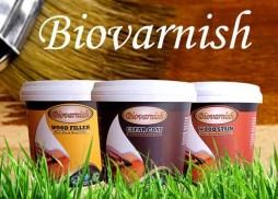 biovarnish untuk finishing kusen warna natual transparan
