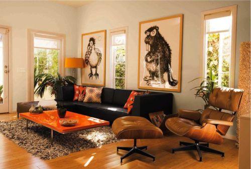 finishing coffee table orange menggunakan cat kayu besi orchid