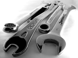 Outils. Crédit : zzpza sur Flickr (CC-by 2.0)