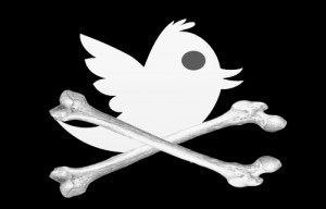 twitter logo Pirate