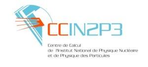 Logo du Centre de Calcul de l'IN2P3 à Villeurbanne (France)
