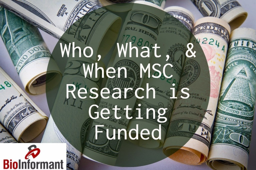 Who, What, and When MSC Research is Getting Funded – Grant Rate Analysis