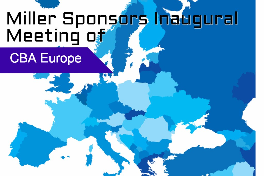 Miller Sponsors Inaugural Meeting of Cord Blood Association (CBA) Europe