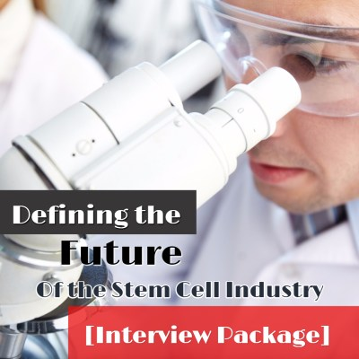 Future of the Stem Cell Industry