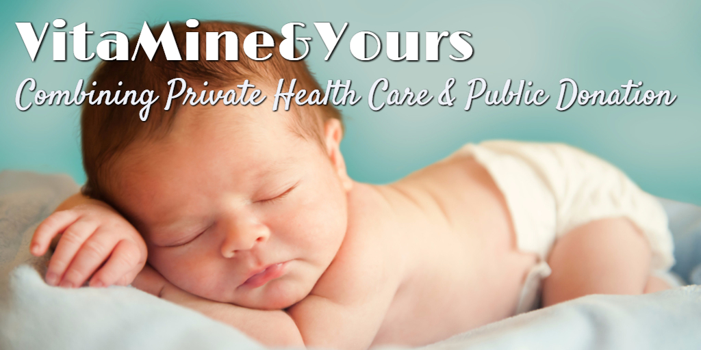 VitaMine&Yours – Combining Private Health Care and Public Donation