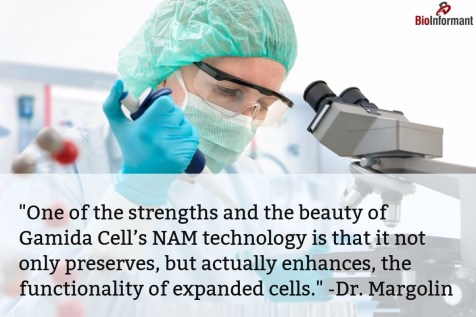 HSCT Quote - Dr. Yael Margolin, Gamida Cell