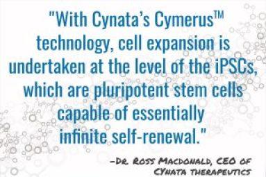 Cynata Cymerus Technology - Dr. Ross Macdonald