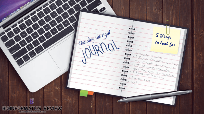 Five things to look at when choosing the right journal for your paper