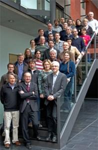 Die beteiligten Arbeitsgruppen-Leiter im FungiNet Netzwerk. (Photo by JSMC)