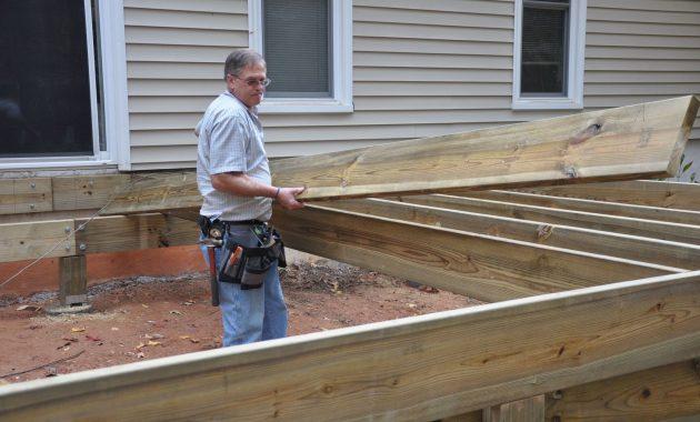 Ground Deck Plans