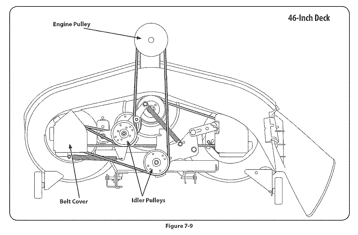 Mtd Mower Axle Diagram