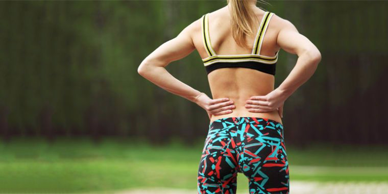 Lower back pain rehabilitation