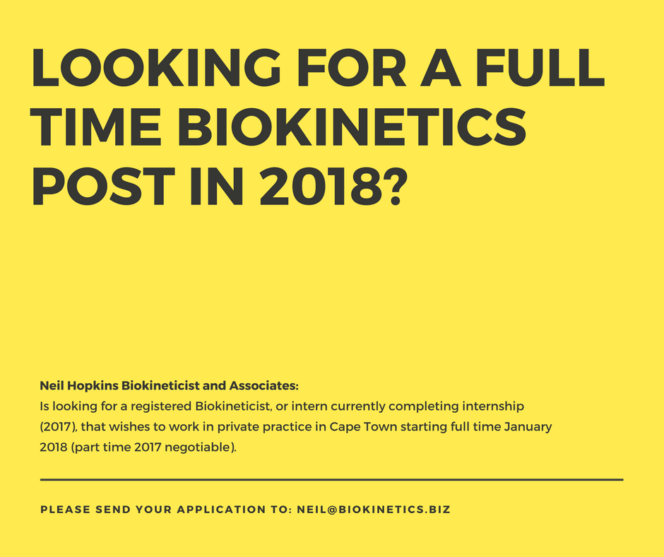 Biokinetics business opportunity
