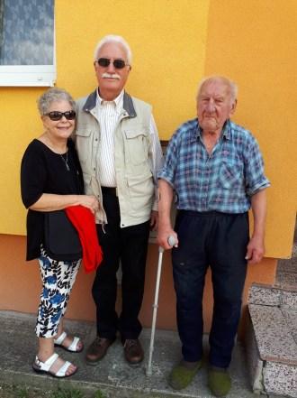 George, Elaine a Stefan Smiesko