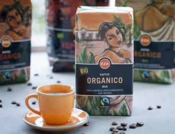 Fair gehandelter Kaffee der EZA © EZA