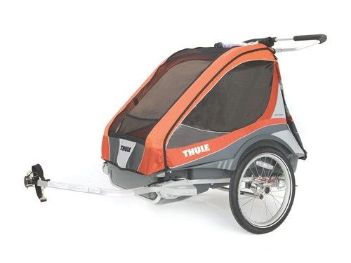 Thule_Chariot_Captain2_Orange_Cycling 10300712_4