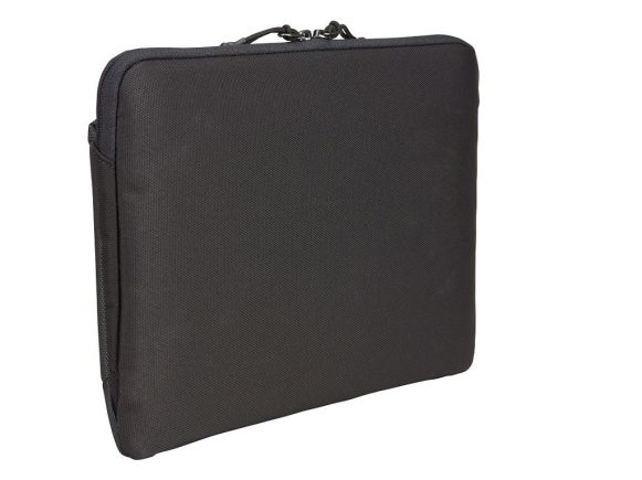 """Durable, plush-lined sleeve for a 12"""" MacBook®."""