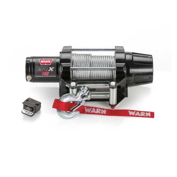 Vitlo Warn VRX 45 Powersport, 12V, 2.041kg sa čeličnom sajlom i vodilicom s žičnim daljinskim